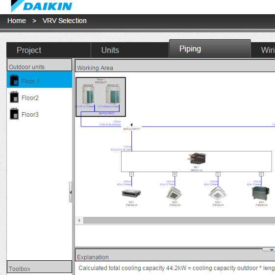 Daikin | Altherma and Rotex selection software